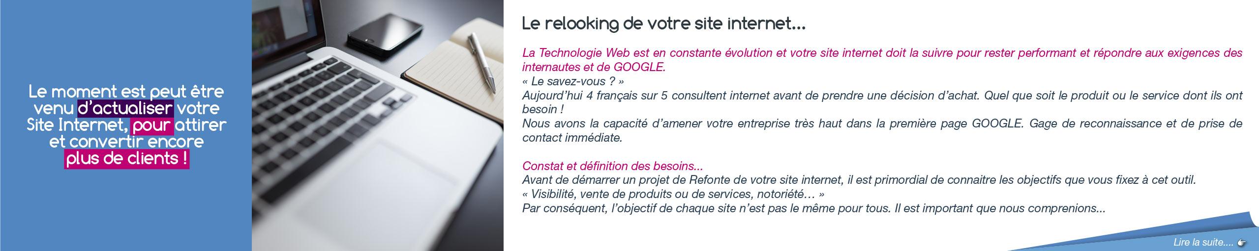 Site Internet - Refonte